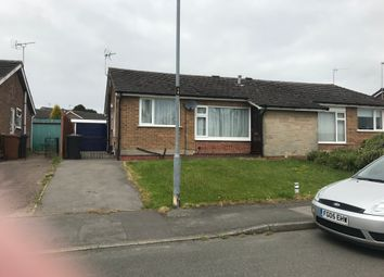 Thumbnail 2 bed semi-detached bungalow to rent in Oakfield Avenue, Markfield