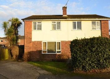 Thumbnail 3 bed semi-detached house for sale in Red House Close, Trimley St. Martin, Felixstowe