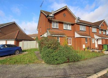 Thumbnail 3 bed end terrace house for sale in Dunster Court, Borehamwood, Herts