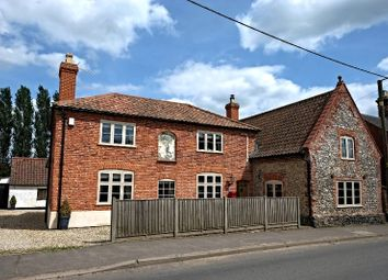 Thumbnail 4 bed detached house for sale in Town Street, Swanton Morley, Dereham
