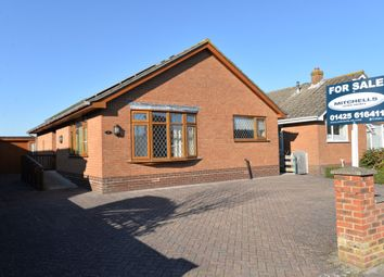 Thumbnail 2 bed detached bungalow for sale in Cutler Close, Ashley, New Milton