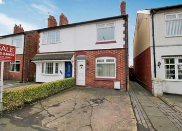 Thumbnail 2 bed semi-detached house for sale in Middlewich Road, Winsford