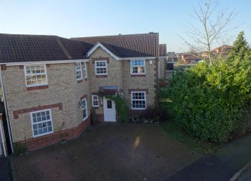 Thumbnail 4 bed detached house for sale in Russell Crescent, Sleaford