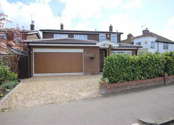 Thumbnail 4 bed detached house for sale in Manland Avenue, Harpenden, Hertfordshire