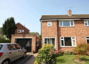 Thumbnail 3 bed semi-detached house to rent in Benson Close, Lichfield