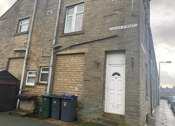 Thumbnail 3 bed terraced house for sale in Foster Street, Queensbury, Bradford