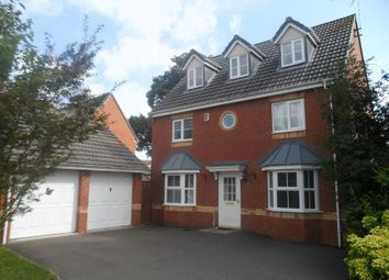 Thumbnail 5 bedroom detached house for sale in Speedwell Close, Eliott Gardens, Bedworth