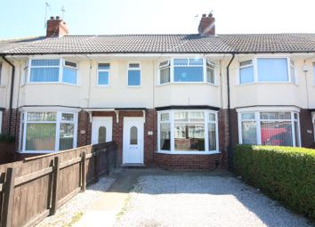 Thumbnail 2 bed terraced house for sale in Woodlands Road, Hull