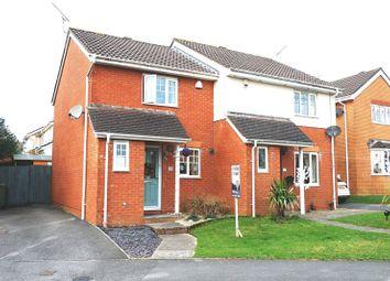 Thumbnail 2 bed semi-detached house for sale in Dol Y Llan, Miskin