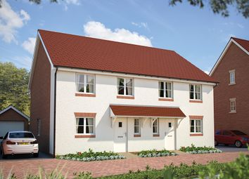 "Thumbnail 3 bedroom semi-detached house for sale in ""The Lancing"" at Winchester Road, Hampshire, Botley"