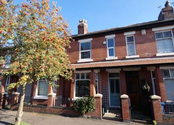 Thumbnail 3 bed terraced house for sale in Westminster Avenue, Whalley Range, Manchester, Greater Manchester