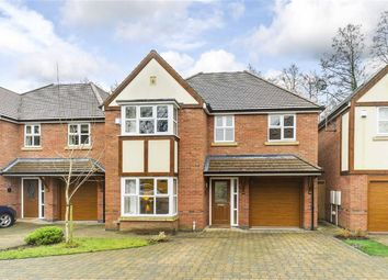 Thumbnail 4 bed detached house for sale in Woodlands Close, Solihull