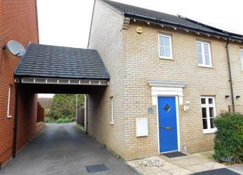 Thumbnail 3 bed semi-detached house to rent in Prince Charles Avenue, Stotfold, Hitchin