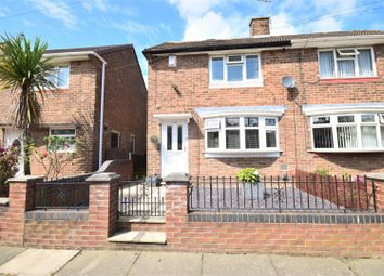Thumbnail 2 bed semi-detached house for sale in Galashiels Road, Grindon, Sunderland