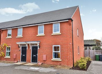 Thumbnail 3 bed semi-detached house for sale in Thomas Way, Horsford, Norwich