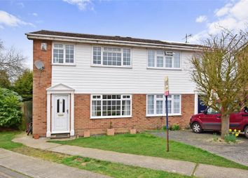 Thumbnail 3 bedroom semi-detached house for sale in Whitebeam Drive, Coxheath, Maidstone, Kent
