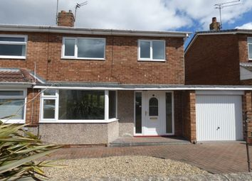 Thumbnail 3 bed semi-detached house to rent in Boulmer Close, Newcastle Upon Tyne