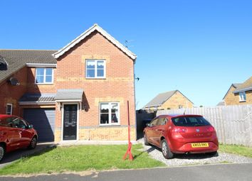Thumbnail 2 bed semi-detached house for sale in St. Helens Drive, Seaham