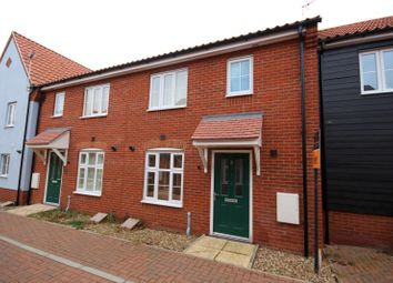 Thumbnail 3 bed terraced house to rent in Blake Walk, Bury St. Edmunds