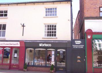 Thumbnail 1 bedroom maisonette to rent in Market Street, Newtown, Powys