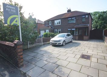 Thumbnail 2 bed semi-detached house for sale in Gig Lane, Woolston, Warrington