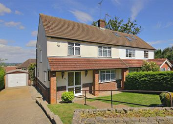 Thumbnail 3 bed semi-detached house for sale in Carrington Avenue, Borehamwood