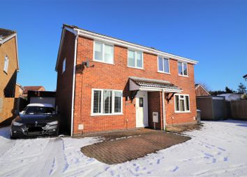 Thumbnail 3 bed semi-detached house for sale in East Rising, East Hunsbury, Northampton