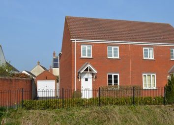 Thumbnail 3 bedroom semi-detached house for sale in The Badgers, St. Georges, Weston-Super-Mare