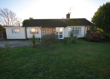 Thumbnail 3 bed detached bungalow for sale in High Street, Kessingland, Lowestoft