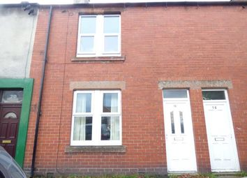 Thumbnail 2 bed terraced house for sale in Swan Street, Longtown, Carlisle