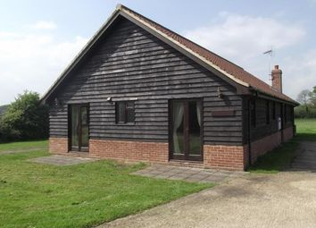 Thumbnail 3 bed bungalow to rent in Halesworth Road, Ilketshall St. Lawrence, Beccles