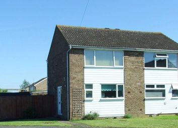 Thumbnail 2 bed semi-detached house to rent in Shakespeare Road, St. Ives, Huntingdon