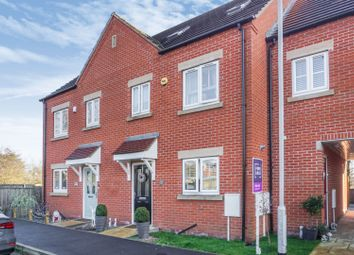 Thumbnail 3 bed terraced house for sale in Poets Close, Hucknall