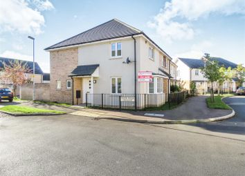 Thumbnail 2 bedroom end terrace house for sale in Wood Ridge Crescent, St. Neots