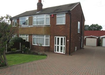 Thumbnail 3 bed semi-detached house to rent in Astbury Lane Ends, Congleton
