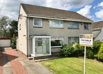Thumbnail 3 bed semi-detached house for sale in Shelley Drive, Bothwell