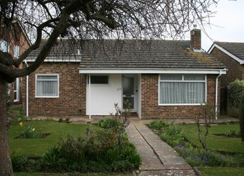 Thumbnail 2 bed detached bungalow to rent in Lychpole Walk, Goring, Worthing