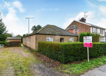 3 bed detached bungalow for sale in Station Road, Terrington St. Clement, King's Lynn PE34