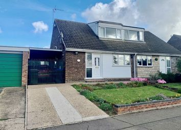 Thumbnail 3 bed semi-detached bungalow for sale in Obelisk Rise, Kingsthorpe, Northampton