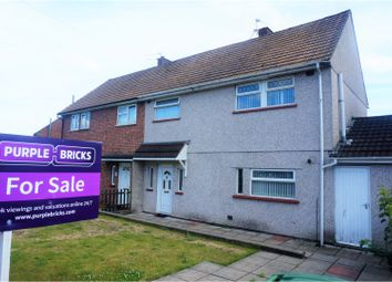 Thumbnail 3 bedroom semi-detached house for sale in Bardsey Crescent, Cardiff