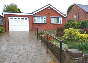 Thumbnail 3 bed bungalow for sale in Highfield Road, Hazel Grove, Stockport, Cheshire