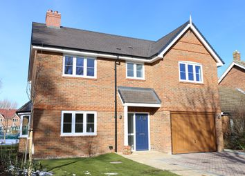 Thumbnail 4 bedroom detached house for sale in Low Meadow, Brook End, Weston Turville