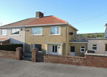 Thumbnail 3 bed semi-detached house to rent in Station Road, Kidwelly