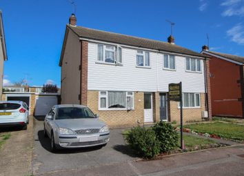 Thumbnail 3 bed semi-detached house for sale in Mapleleaf Gardens, Wickford, Wickford, Essex