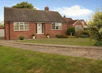 Thumbnail 4 bed detached bungalow for sale in High Stile, Leven, Beverley