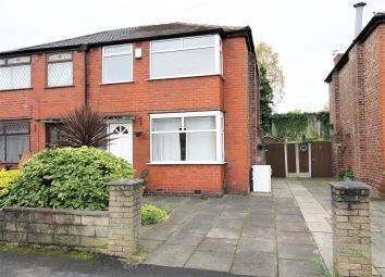 Thumbnail 3 bed semi-detached house for sale in Trevor Road, Eccles, Manchester