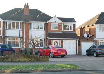 Thumbnail 4 bed semi-detached house for sale in Hawthorne Road, Castle Bromwich, Birmingham