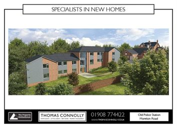 Thumbnail 2 bedroom flat for sale in Apartment 10, Station Gardens, Moreton Road, Buckingham