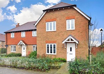 Thumbnail 3 bed semi-detached house for sale in Langley Way, Kings Hill, West Malling, Kent