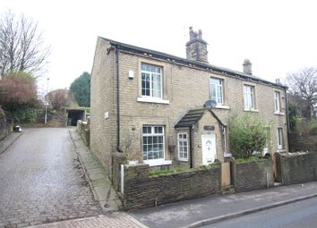 Thumbnail 2 bed end terrace house for sale in Huddersfield Road, Brighouse, West Yorkshire